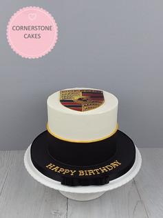 Car Enthusiast's Cake