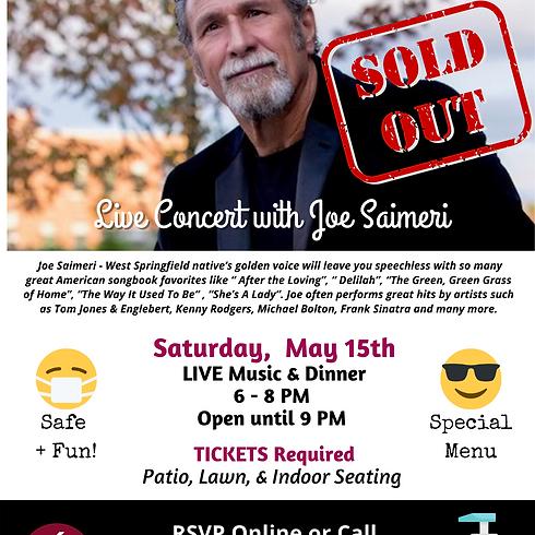 LIVE CONCERT - with Joe Saimeri