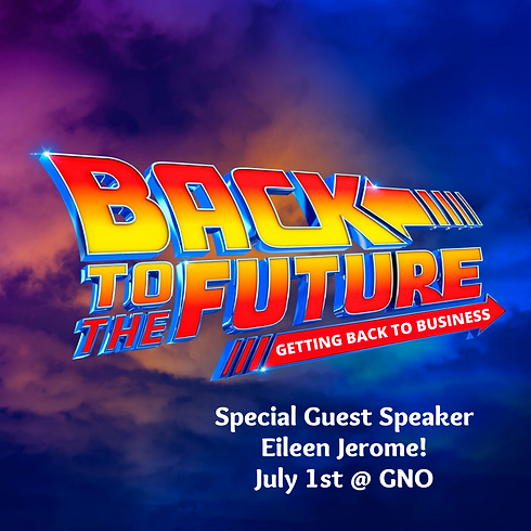 WBOA Girls Night Out is going BACK TO THE FUTURE!