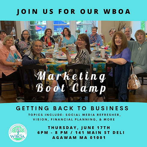 Marketing Boot Camp - Free to WBOA Members