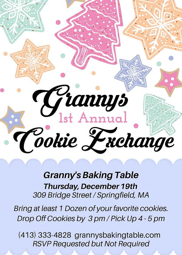 Revised Cookie Exchange Party Invitation
