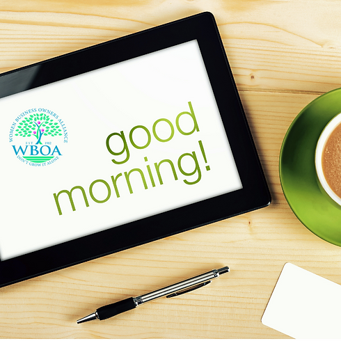 WBOA Morning Meeting - December 9th / MEMBERS ONLY