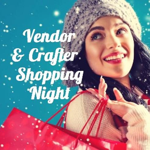 CANCELLED Vendor Shopping Night
