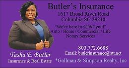 Butler's Insurance
