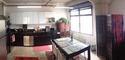 Loft Kitchen Wide Angle