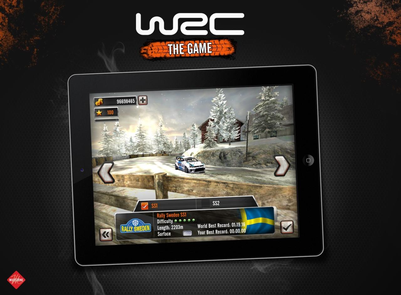 Jeu vidéo : WRC iOS