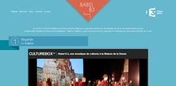 Site du projet Babel 8.3