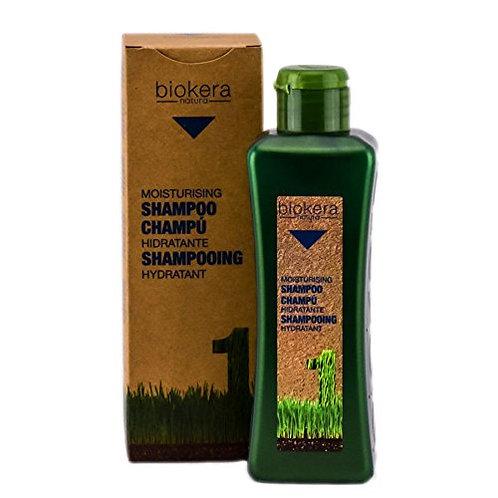 Salerm Biokera Shampoo Hidratante 300 ml.