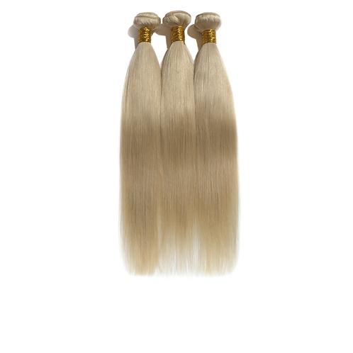 Blonde Straight Indian Virgin Set
