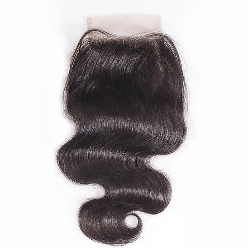 Body Wave Virgin Indian Lace Closure