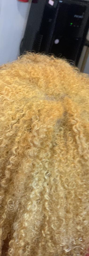 Custom Blonde Color