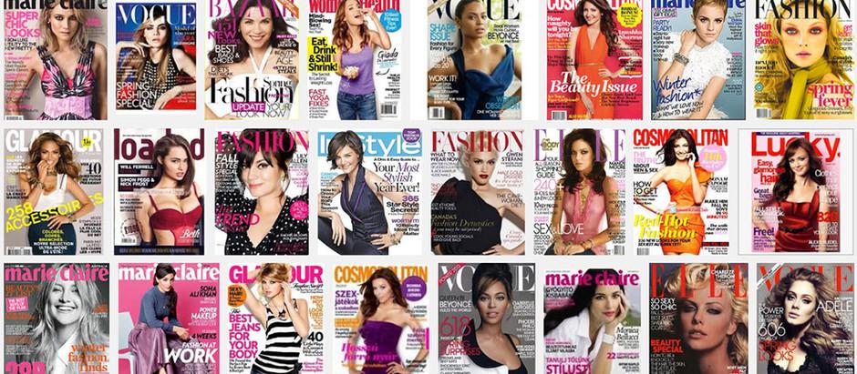 Das Thema Frauen-Zeitschriften