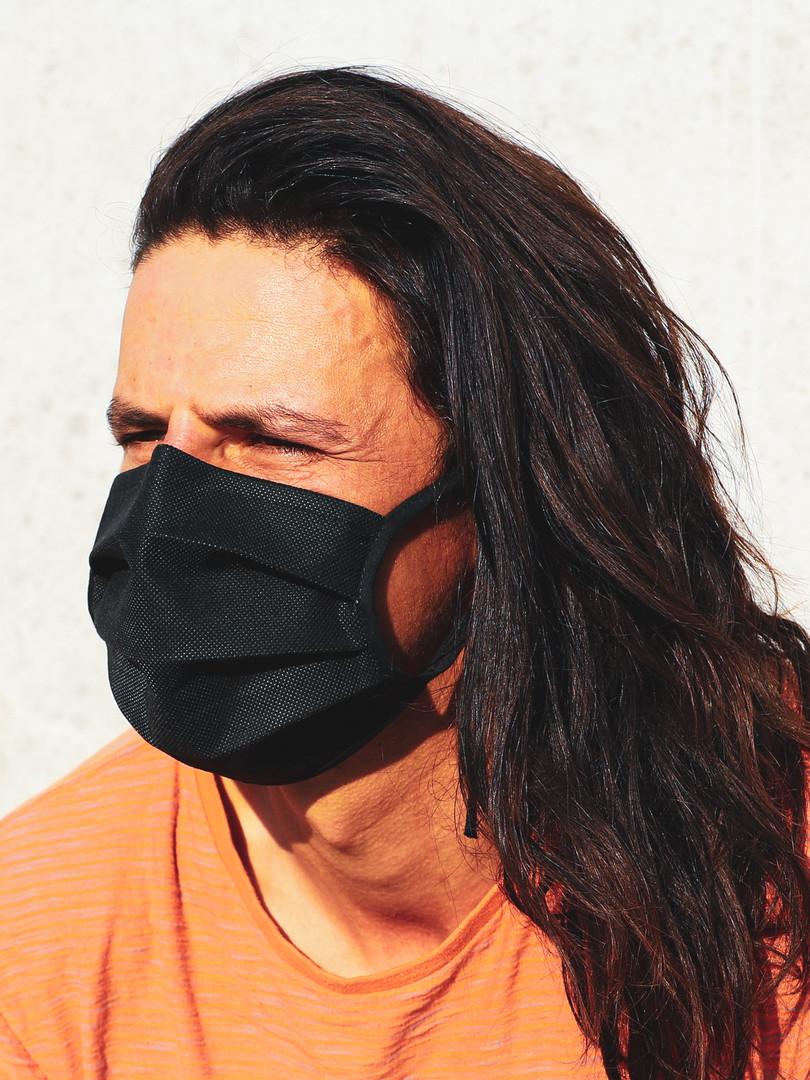 MIME mondmasker zwart