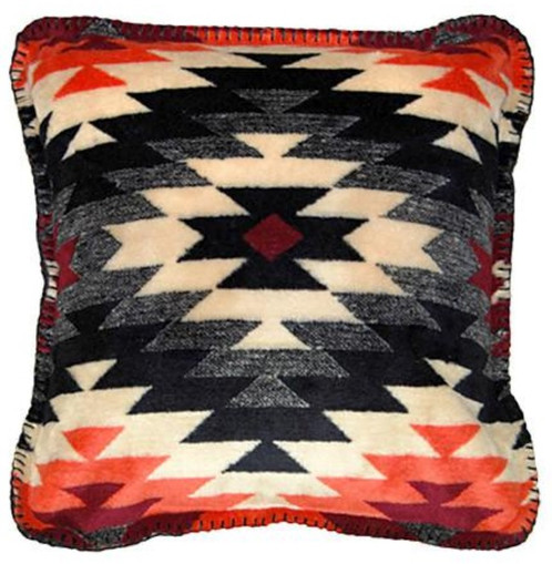 Starburst Orange Southwestern Decorative Pillow Classy Southwest Decorative Pillows