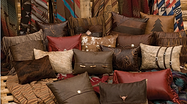 Western And Cabin Pillows Throws Throw