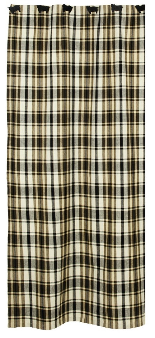 Moss Wood Plaid Shower Curtain | Western Home Decor, Western Bedding ...