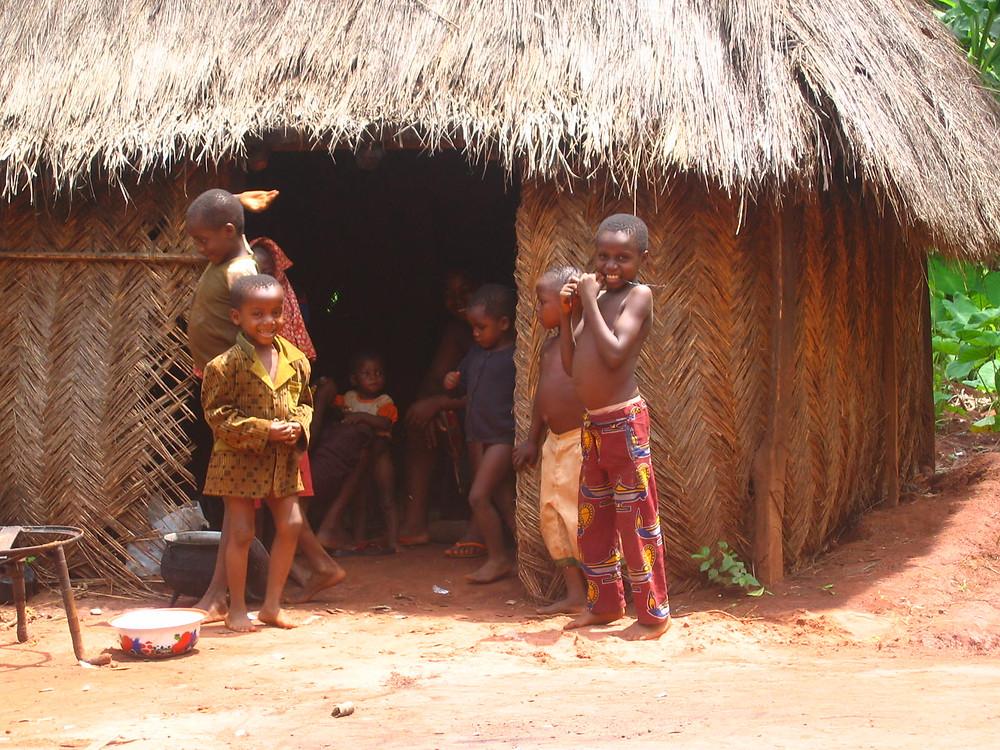 Kids in my Shaman's Village