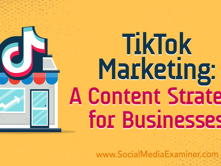 Is your Business on TikTok yet?