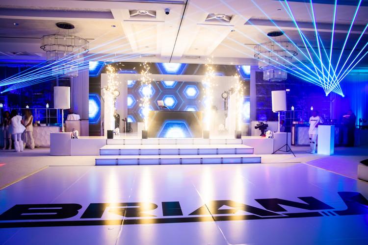 Stage design for event in miami