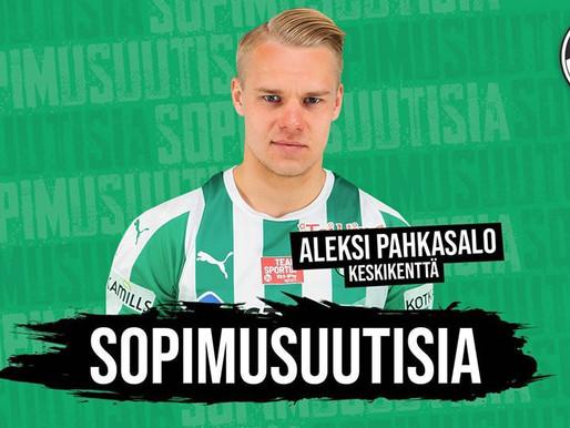 SOPIMUSUUTISIA: Tervetuloa Aleksi Pahkasalo!