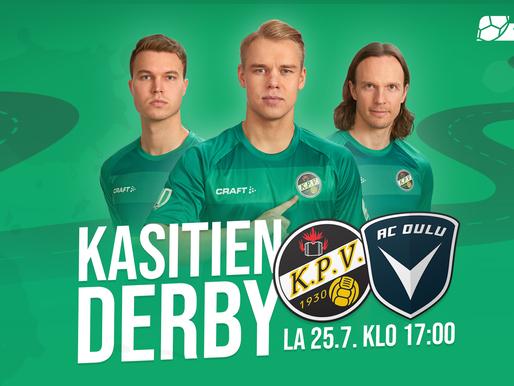 KPV:n miehistö koronavapaa: Ensi viikonlopun ottelu pelataan sovitusti!