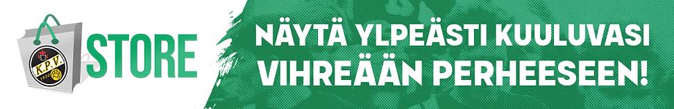 KPV STORE-banneri