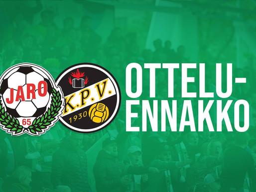 Otteluennakko (FF Jaro-KPV La 8.2.): Derbytunnelmaa isoilla panoksilla!