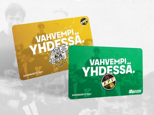 Kausikortit myynnissä Lipputoimistossa: Voit maksaa myös E-passilla ja Tyky-seteleillä!