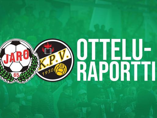 Otteluraportti (FF Jaro-KPV La 8.2.): Ryöstöretki Pietarsaareen!