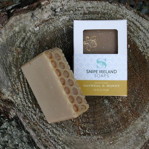 Snipe Ireland Soap - Oatmeal & Honey