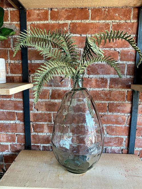 Large Blown Glass Decorative Jar