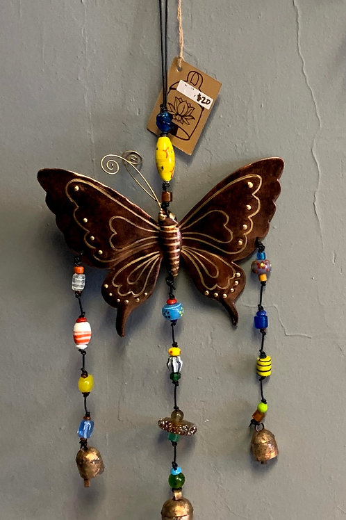 Large Butterfly NM Nana Bells Chime