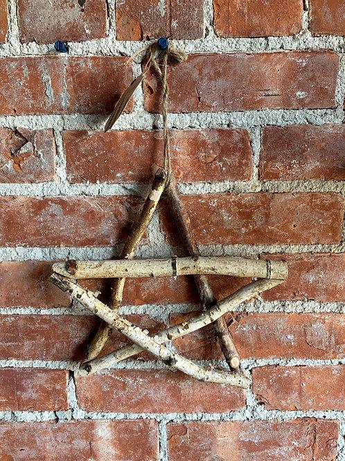 Hanging Birch Star