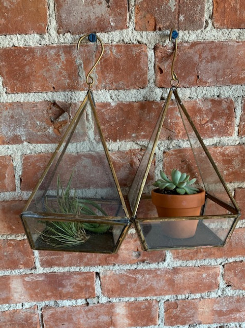 Geometric Hanging Planter