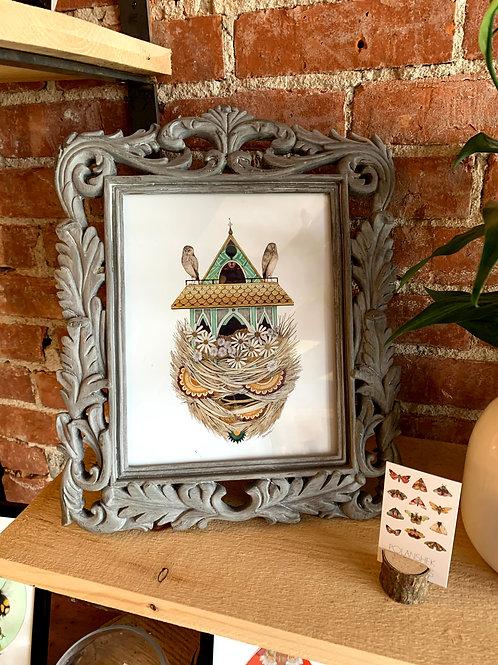 """Jess Polanshek 8x10 """"House of Owl"""""""