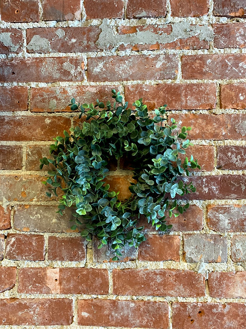 Small Faux Eucalyptus Wreath