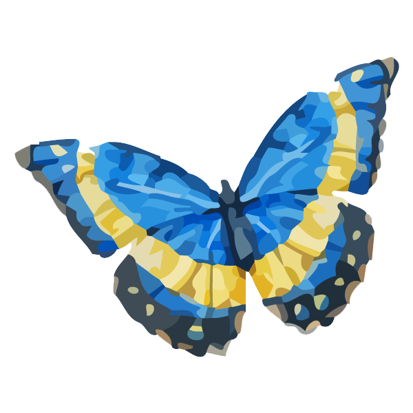 Watercolor Butterfly 18