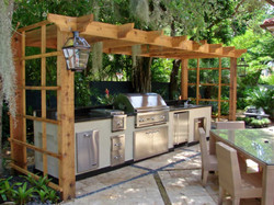 charming-outdoor-kitchen-design-with-wooden-pergola-and-simple-rectangular-kitch