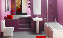 trendy-casual-purple-bathroom
