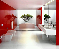 perfect-glossy-red-wall-paint