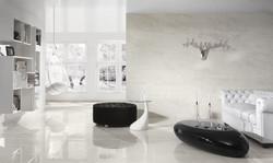 interior-glorious-round-black-velvet-tufted-ottoman-coffee-table-on-gloss-tile-w