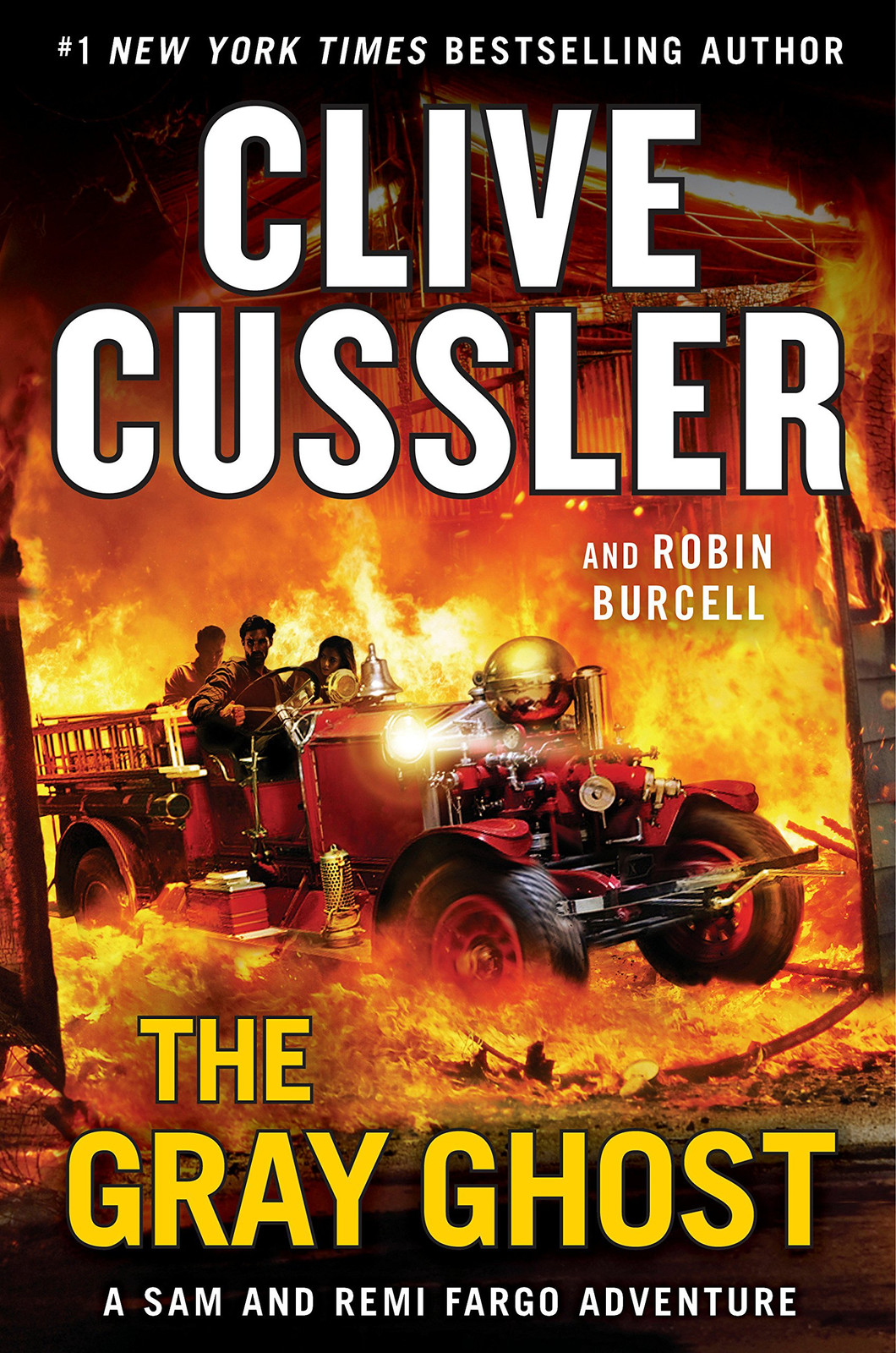 The Gray Ghost, by Clive Cussler and Robin Burcell