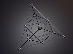 Pixabay - Atom structure -tetrahedron-20