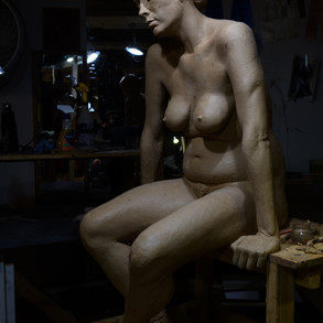 The clay is almost done