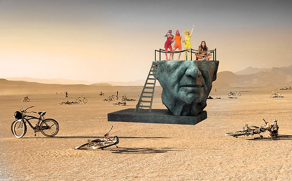yves.goyatton Sculpture- Burning Man Pro