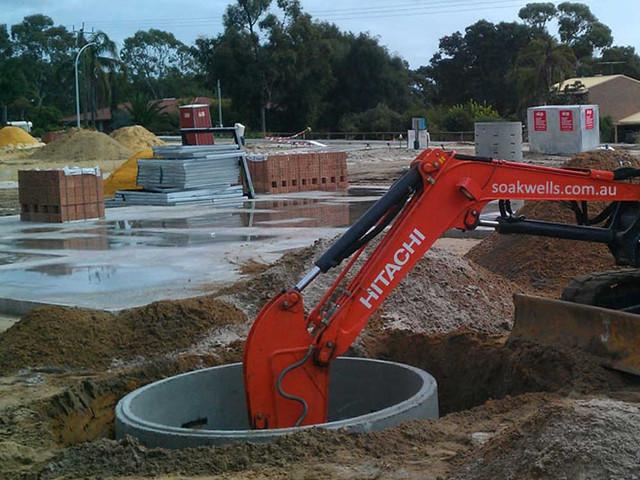Digging down