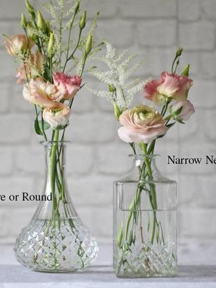 Flor Box OXO | Wedding Flowers | Vase Styles