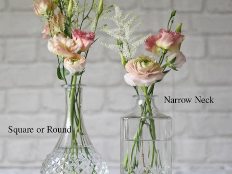 Flor Box OXO   Wedding Flowers   Vase Styles
