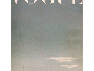 #BritishVogue, #Vogue. #JamesdeHoldenStone, #October #1945  #VintageVogue #edition  #UpInTheClouds #