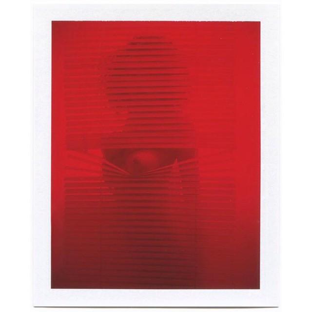 Instagram - #PeekaBoo #RedLight #Blind #Stripes #Retro #Red #Photo #unknown